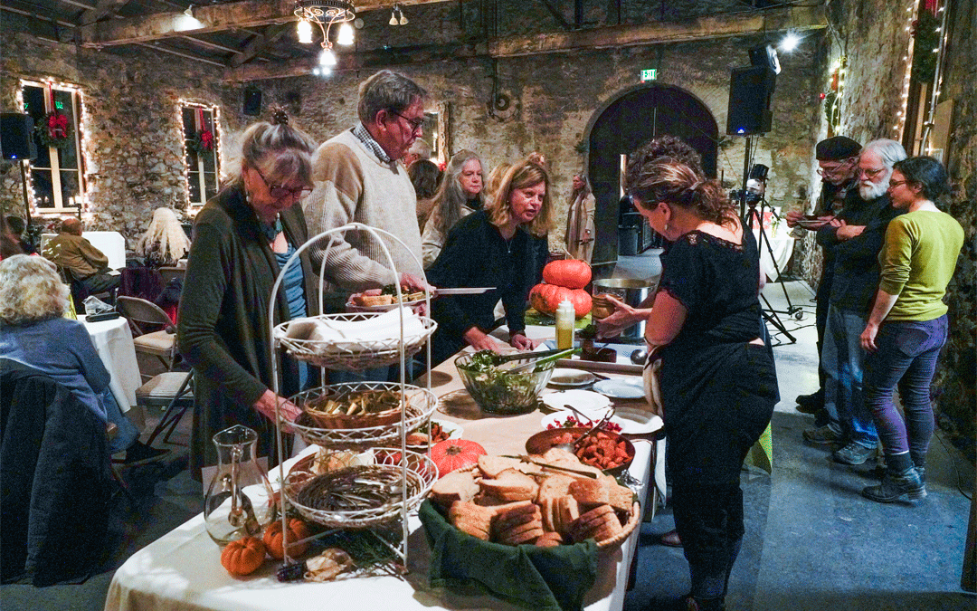 Buffet at Miners' Foundry